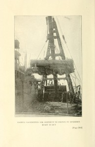Photo from American Engineers in France, by William Barclay Parsons, copyright D. Appleton and Co., 1920