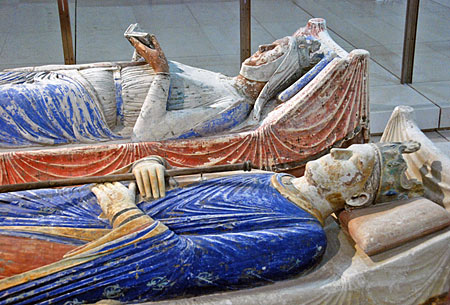 Tomb of Eleanor of Aquitaine and Henry II, Canterbury Cathedral