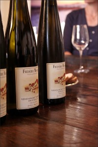Three Alsace Wines at Mochel's including a Riesling