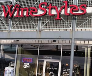 Wine Styles, Carmel, IN.