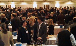 A large tasting offered the opportunity to meet Italian vintners