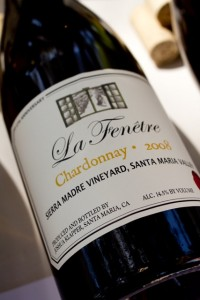 Future of chardonnay drinkable and balanced palate for La fenetre wines