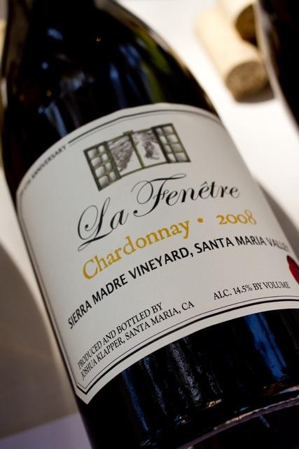 Future of chardonnay drinkable and balanced palate for La fenetre chardonnay
