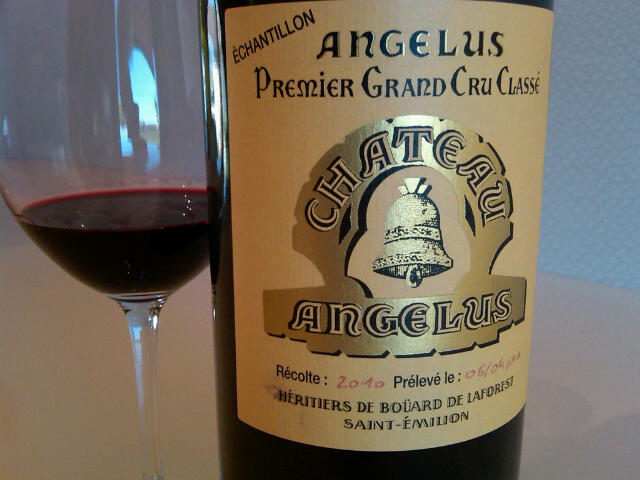 Live in bdx a hot afternoon in saint milion pomerol for Chateau angelus