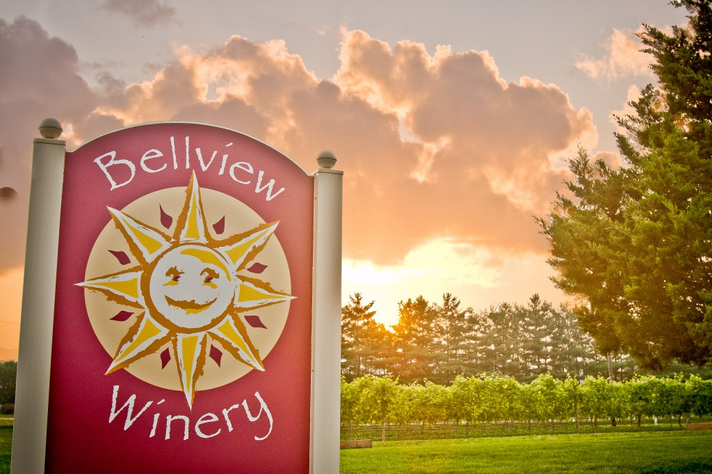 Entrance to Bellview Winery