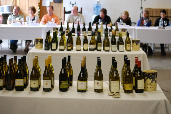 Bottles of Oregon Pinot Gris  (image: Diaz Communications)