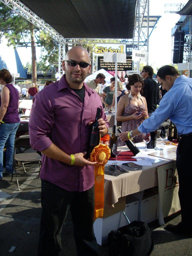 Issy Borjon of Borjon Winery in Amador County, CA