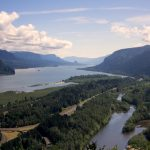 Another section of the stunning Columbia River Gorge.