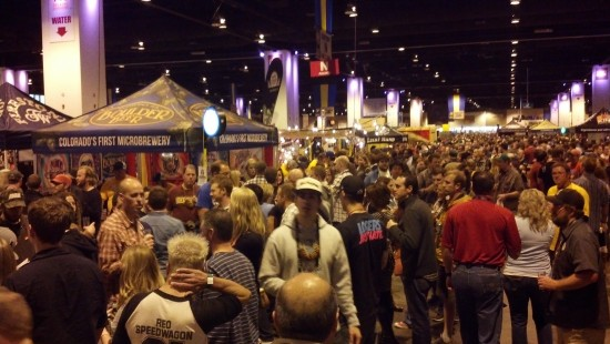 Controlled chaos at the GABF