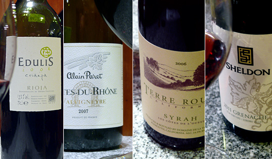 Red Wines for Comfort Food