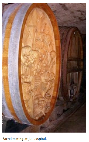 Barrels at Juliusspital