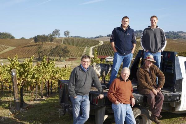 Perrin & Haas families - Photo Courtesy Tablas Creek Vineyards
