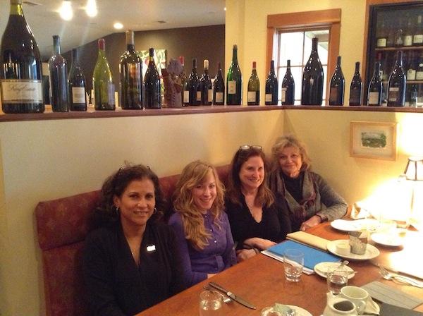 Left to right: Leda Garside, Lindsey Coon, Maria McCandless, Nancy Ponzi