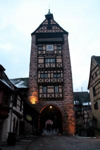 Riquewihr clock