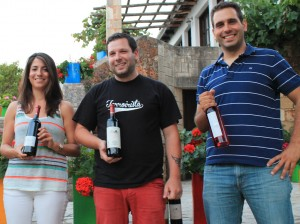 The folks at Manousakis Winery in Chania