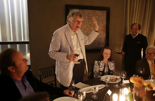 Gordon Getty speaking at the CADE Estate party