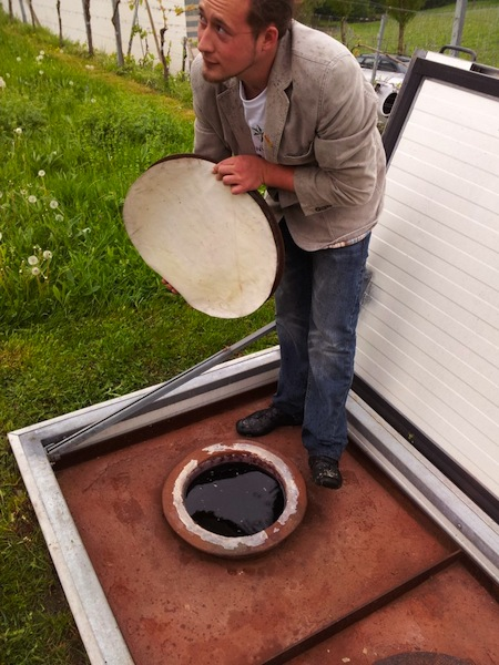 manuel ploder-rosenberg opens an amphora