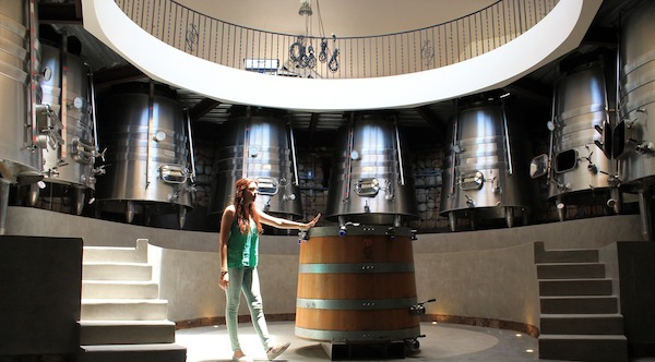 The Gravity flow winery at La Lomita