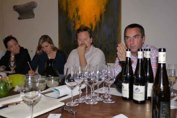 Tom Benns (far right), photo by Susanne Renth-Queins