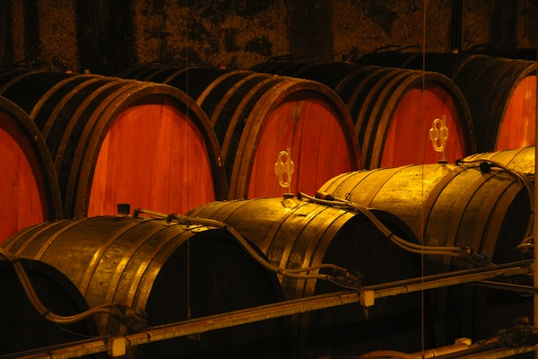 cellar at Domaine Zind-Humbrecht