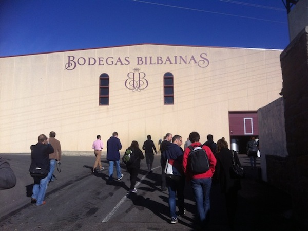 Bodegas Bilbainas, post-conference trip