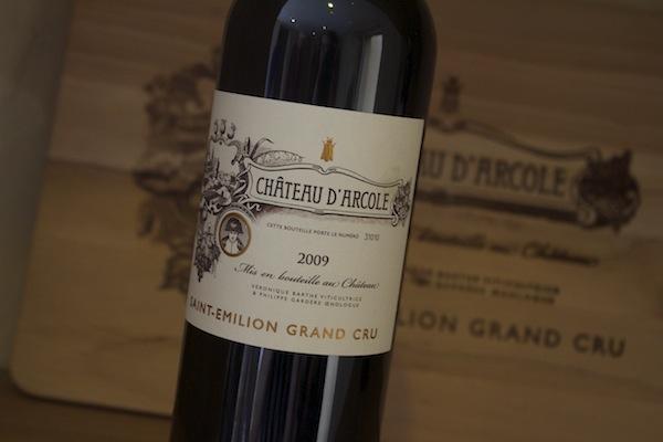 Chateau d'Arcole wine