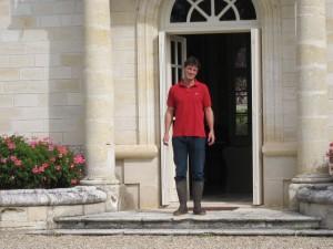 marc milhade, chateau recougne