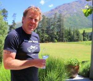 Duncan Forsyth at Mount Edward winery