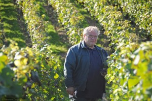 Francis Boulard in the vineyard Courtesy of Champagne Francis Boulard