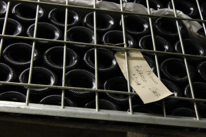 Barolo aging in bottle, Cascina Disa