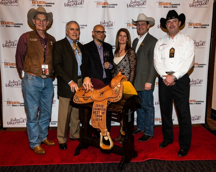 The 2014 Rodeo Uncorked!® Grand Champion Best of Show was Marchesi Antinori Guado al Tasso, Bolgheri DOC Superiore, 2009. Photo: Houston Livestock Show and Rodeo