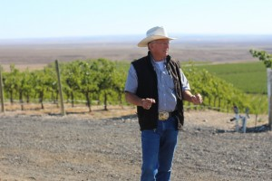 Mike Andrews of Coyote Canyon Winery