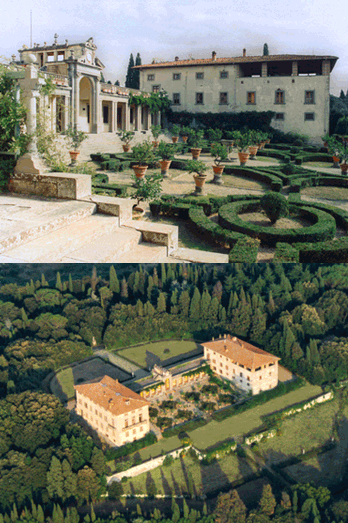 The Villa Caruso Bellosguardo (courtesy Museo Enrico Caruso)