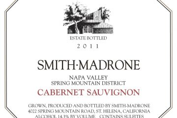 Smith-Madrone 2011 Cab