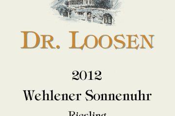 Dr Loosen Wehlener Sonnenuhr