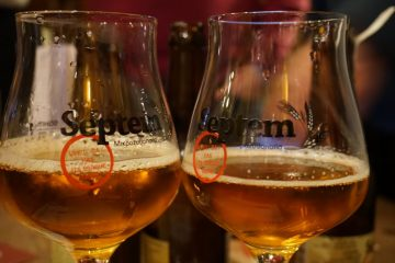 Septem - tasting glasses, De Wildeman, Amsterdam April 2015