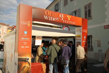 Orange wine festival, Izola 24th May 2015 - entrance
