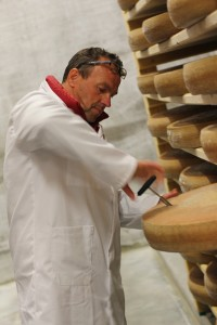 Testing-cheese-at-an-aging-cellar
