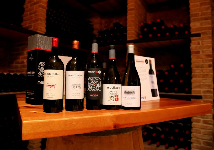 mustiguillo-wine-lineup