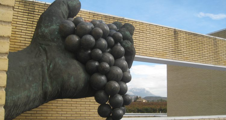 Fountain at Museo Bodega Dinastia Vivanco