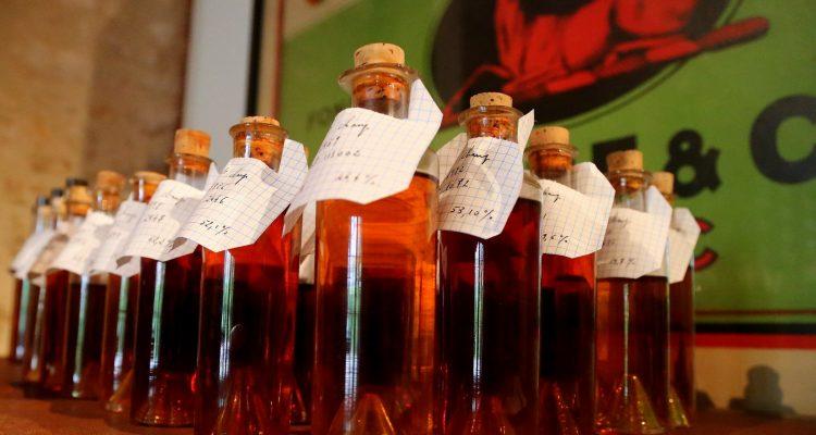 HINE-blending-bottles