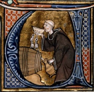 Monk_tasting_wine_from_a_barrel