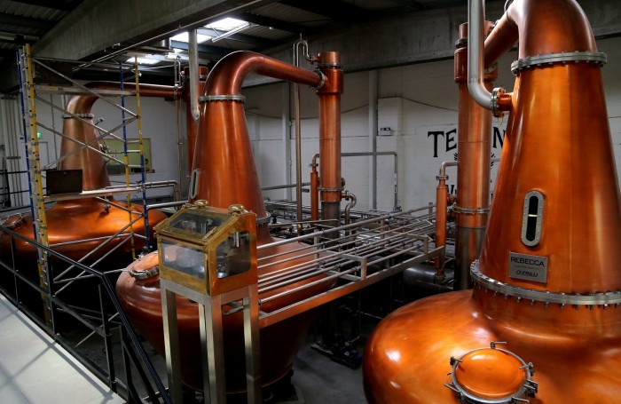 Pot Stills at Teeling