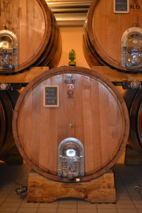 Large vats at Massi di Mandorlaia