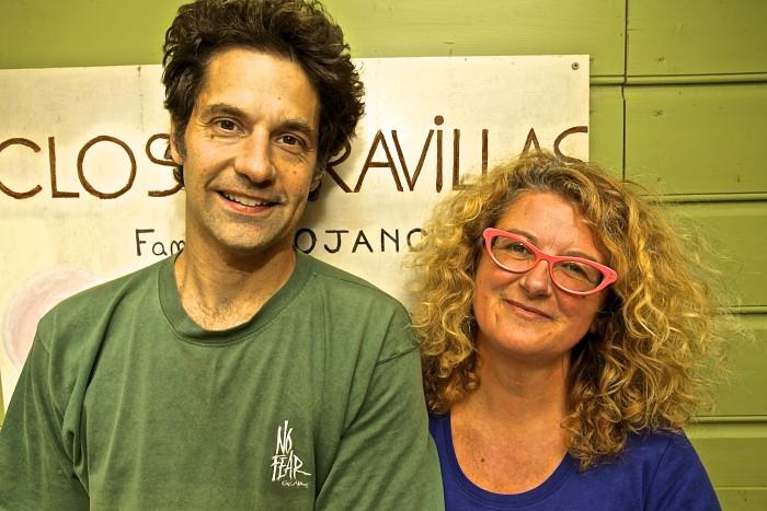 John and Nicole Bojanowski of Clos du Gravillas