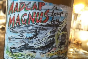 A slightly battered Madcap Magnus label (Staffelter Hof)