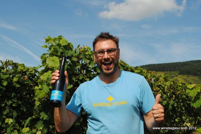 Jan Matthias Klein of Staffelter Hof (Photo courtesy Meeghan Murdoch/Winesagasu)