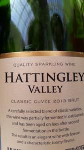 Hattingley Valley label LWF