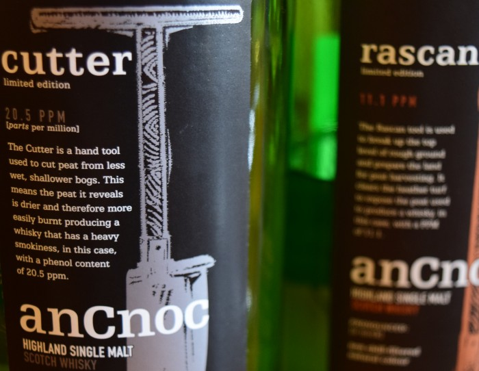 anCnoc labels with phenolic content in ppm