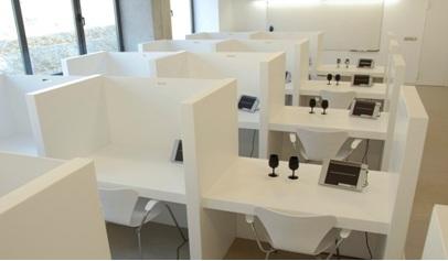Sensory evaluation lab at VITEC (photo:vitec.cat)